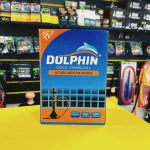 уголь для кальяна Dolphin 1кг